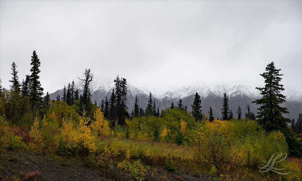 First sign of fresh snow, Boutillier Summit