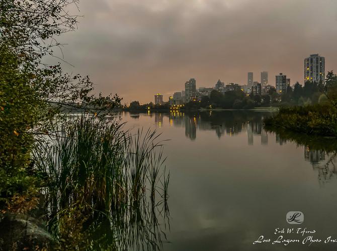 My morning walk views Lost Lagoon, Vancouver, BC, Canada #43