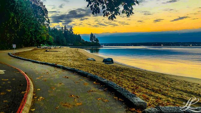 English Bay, Vancouver, BC, Canada,