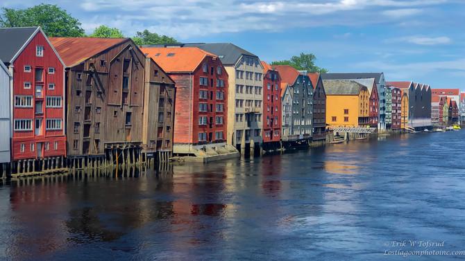 The wharves, Trondheim, Norway