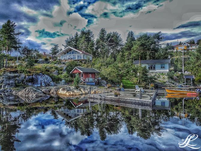 Favourit spot, Bamle, Norway