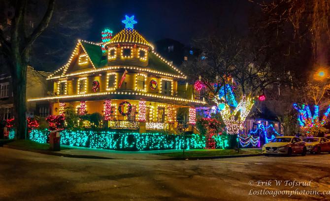 Christmas Spirit, Westend,Vancouver, BC, Canada