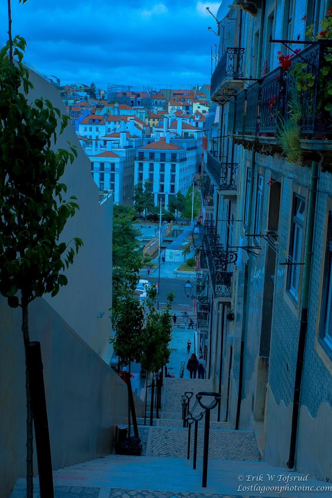 Street scene, Lisbon, Portugal - 1