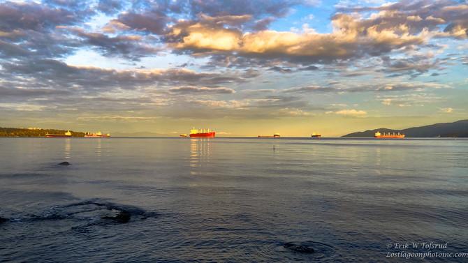 Sunrise English Bay, Vancouver, BC, Canada