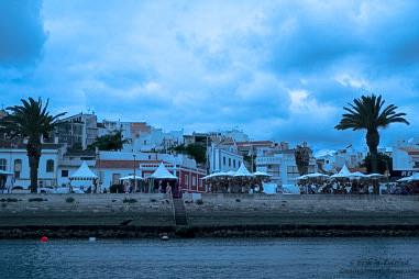City view, Lagos, Portugal. - 2
