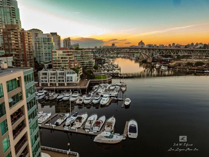 My morning walk views, Burrard Bridge, False Creek, Vancouver, BC, Canada #35