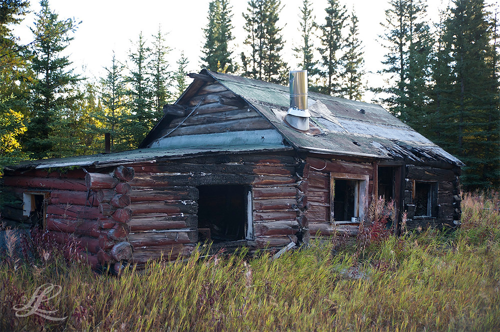 Old, abandoned miner's cabin near Kennecott Copper Mine
