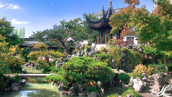 Dr. Sun Yet-Sen Classical Chinese Garden, Vancouver, BC, Canada,