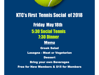 First Social of the Season!