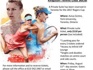 KTC Social - Rogers Cup