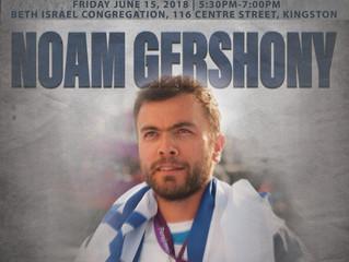Hear Noam Gershony - Paralympic Gold Medalist Wheelchair Tennis Player!