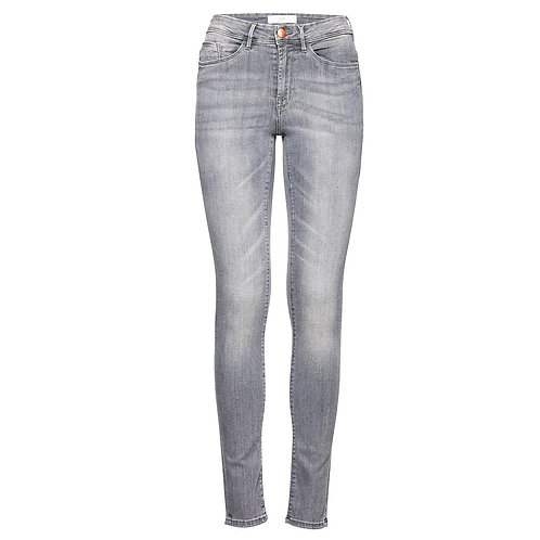 Jeans skinny gris