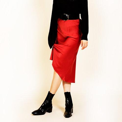 Falda raso