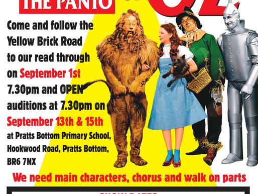 Read-through for Panto 2022