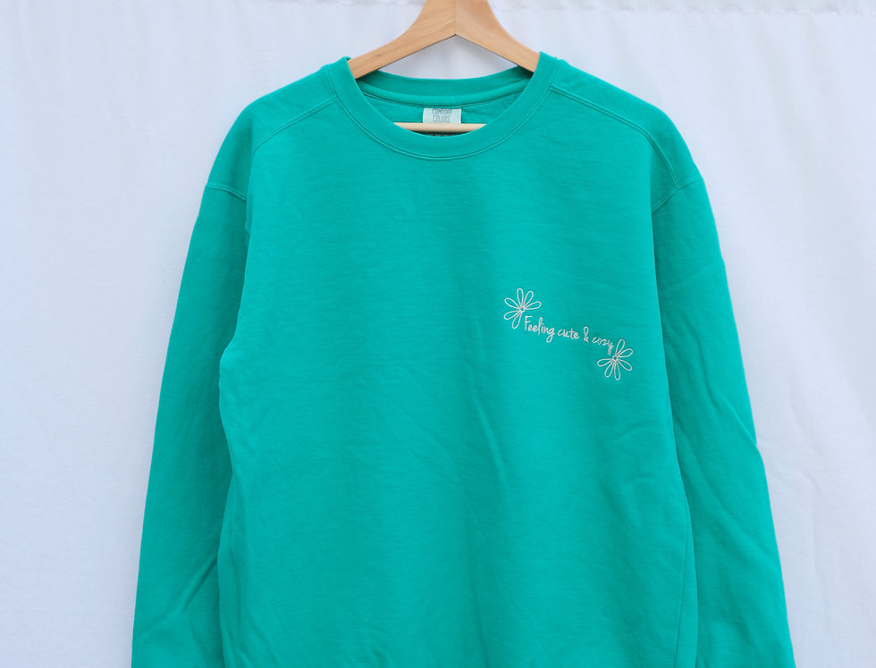 """Feeling Cute & Cozy"" Sweatshirt"