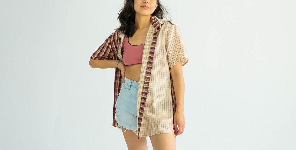 Summer Plaid Button Up