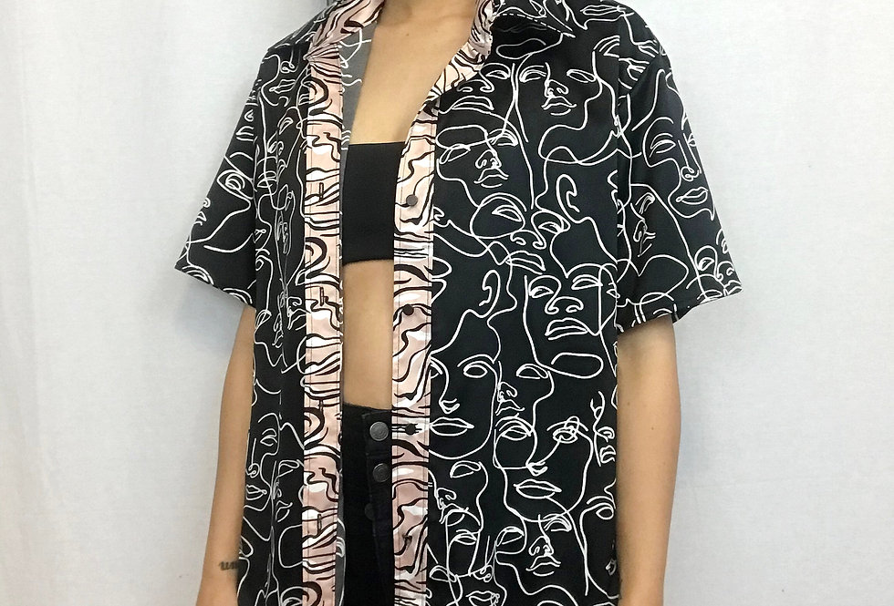 Simply Silhouette Button Up
