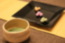Matcha Green Tea and Japanese traditional sweets