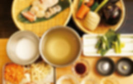 Japanese traditional home cooking