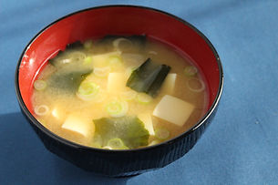 miso soup (Tofu and wakame seaweed)