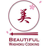 logo of beautiful washoku cooking