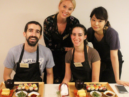 Sushi Course (Japanese Cooking Class in Tokyo)