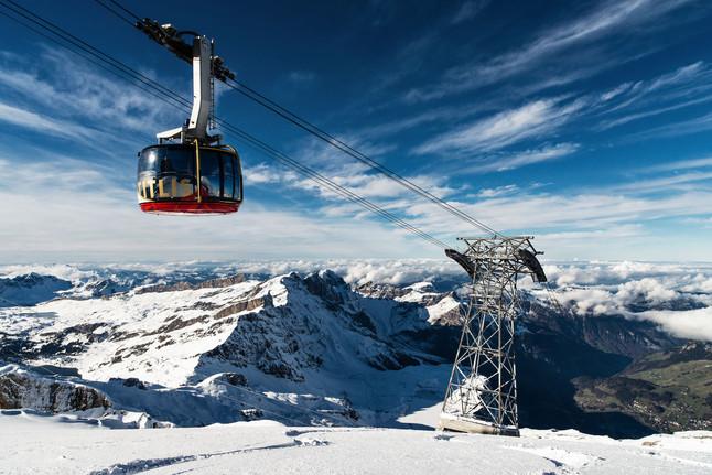 Titlis: a montanha mais divertida da Suíça