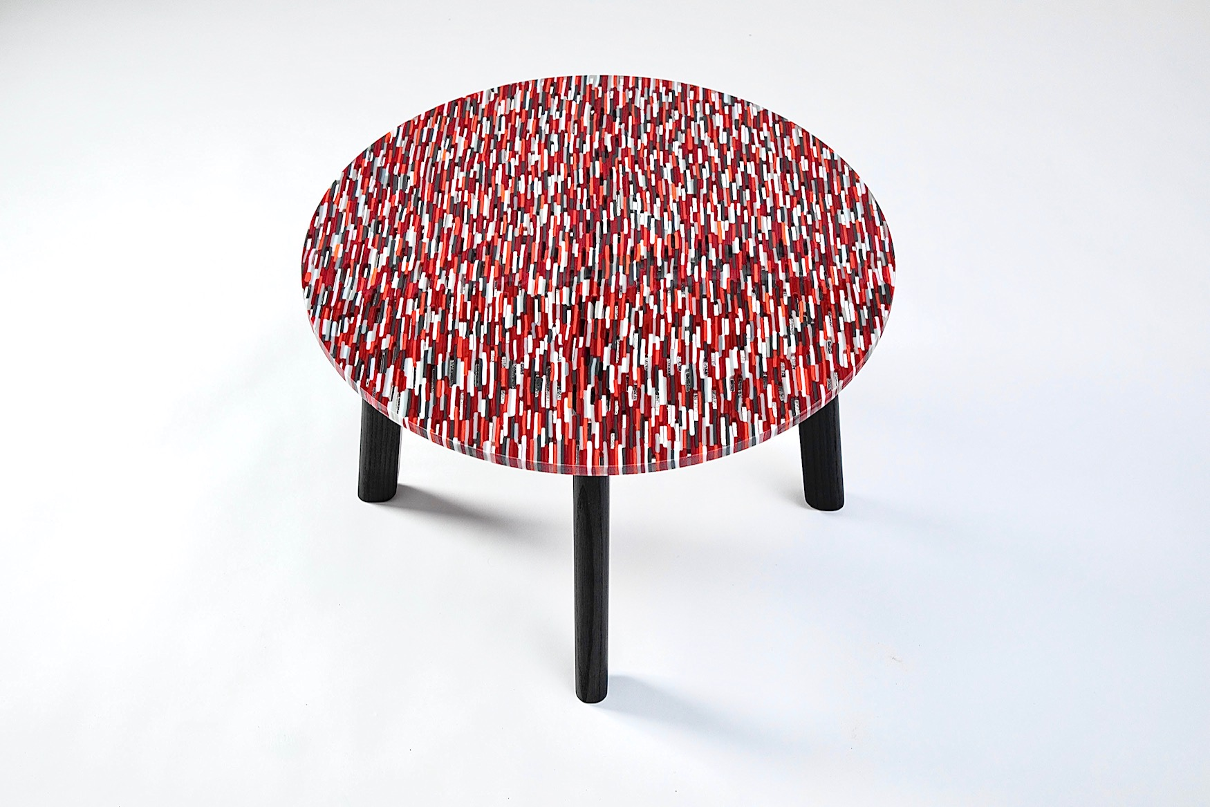 Custom Round Mosaic Table