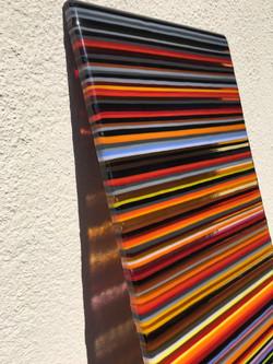 Custom Glass Panel Detail