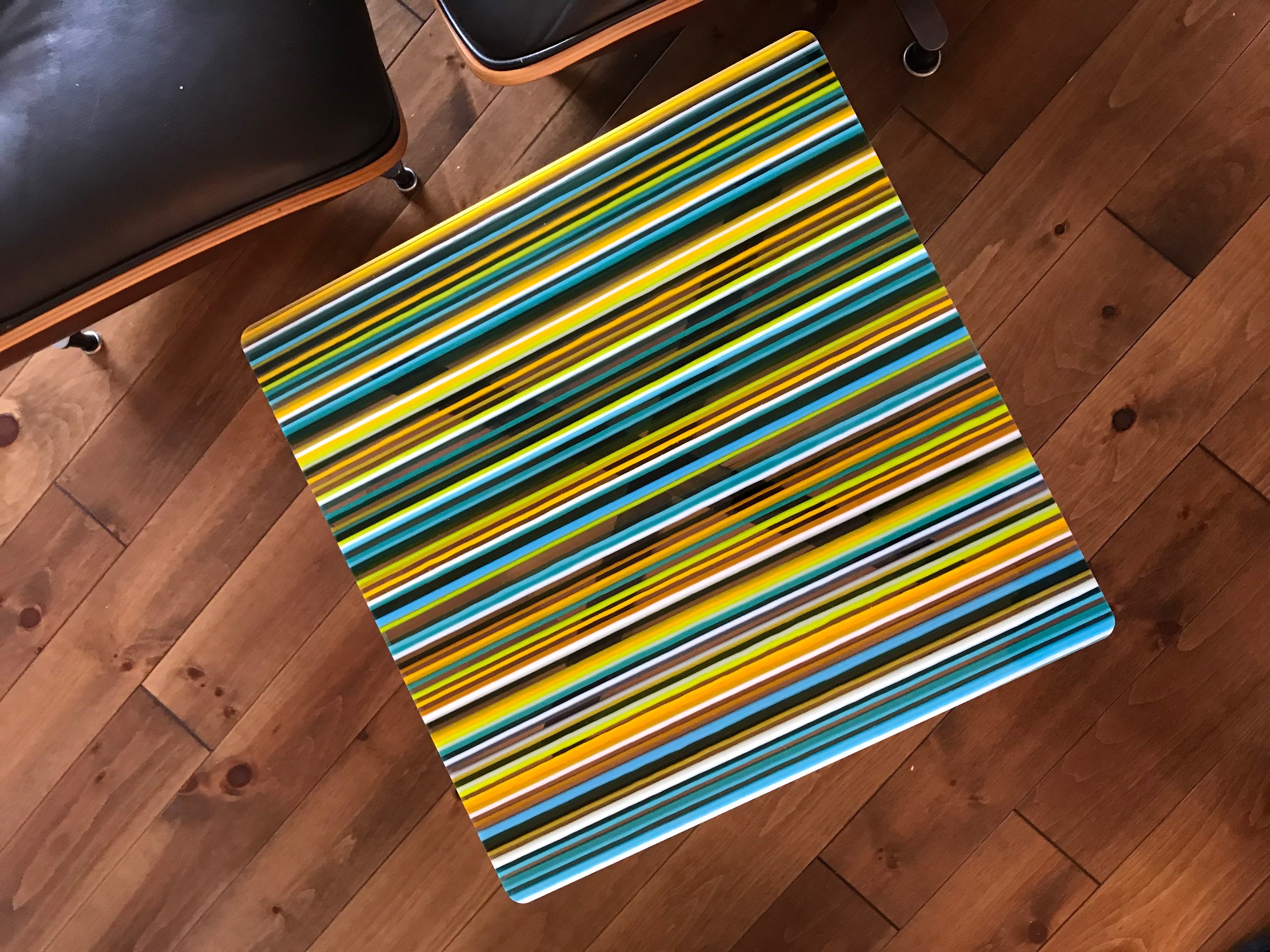 Custom Striped Table