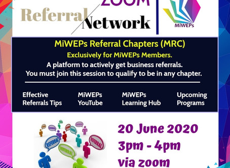Miweps zoom referral network