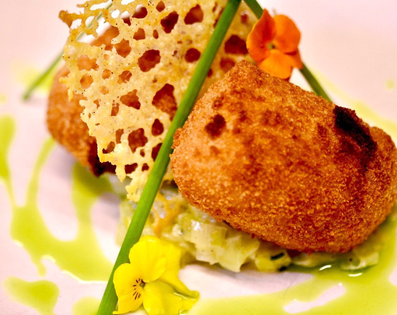 Smoked Haddock and manchego croquettas