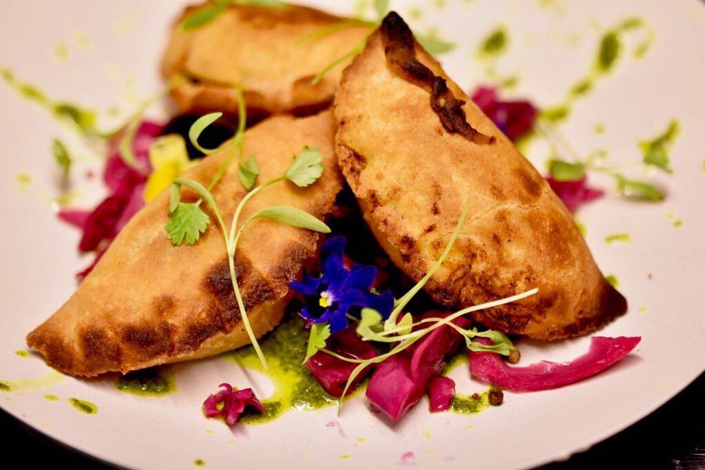 Spicy venison empanadas
