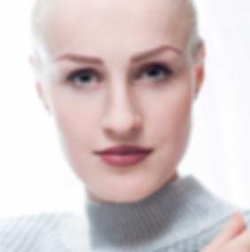 High key portriat, blonde model in sweater, photo studio, portrait photorapher, Ellesmere Port, Cheshire