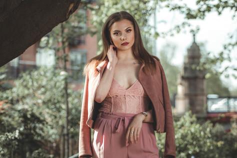 model_ Natalia, Leicester city centre pa