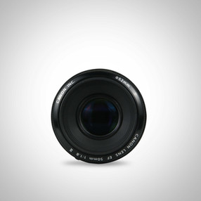 lens product photography