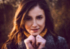 headhost photo of brow hair model wearin winter coat, fshion photographer Cheshire