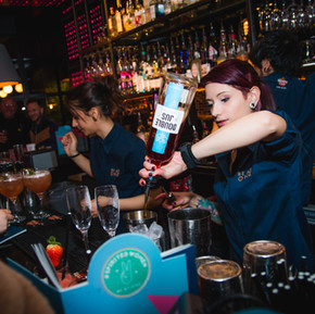 coctail bar business branding photography