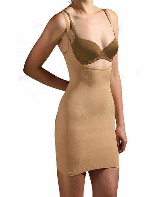 Modelująca spódniczka z ramiączkami ALL IN ONE BODY SMOOTHER 527-18