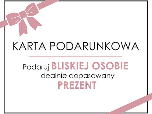 Elektroniczny bon podarunkowy - 350 zł