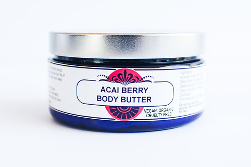 Acai Berry Body Butter 8OZ