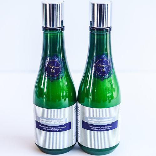 Snail Mucin Shampoo with Tea Tree Aromatherpy Blend 8oz