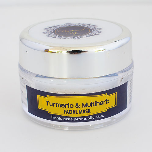 Turmeric & Multiherb facial mask 2oz