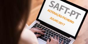 Alterações ao ficheiro SAF-T 2017