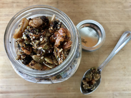 Incredibly Delicious Sweet and Spicy Grain-Free Granola