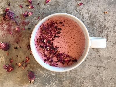 Rosy Moon Milk Recipe