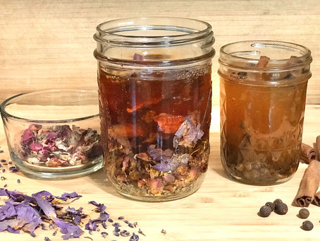 How to Make Infused Honey