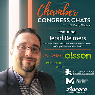 CHAMBER CONGRESS CHATS APRIL 2021