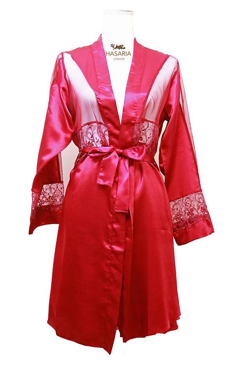 Saffron Short Luxury Gown