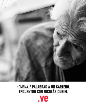 Palabras a un cartero: Encuentro con Nicolás Curiel